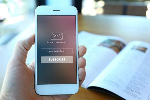 amazonギフト券買取業者のメールを受信できるようにしておく