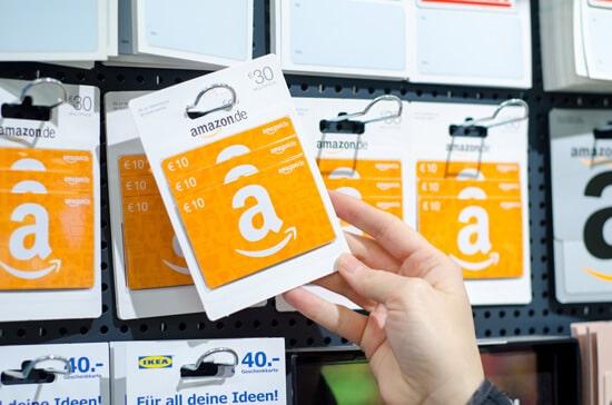 amazonギフト券はコンビニでも購入することができます。
